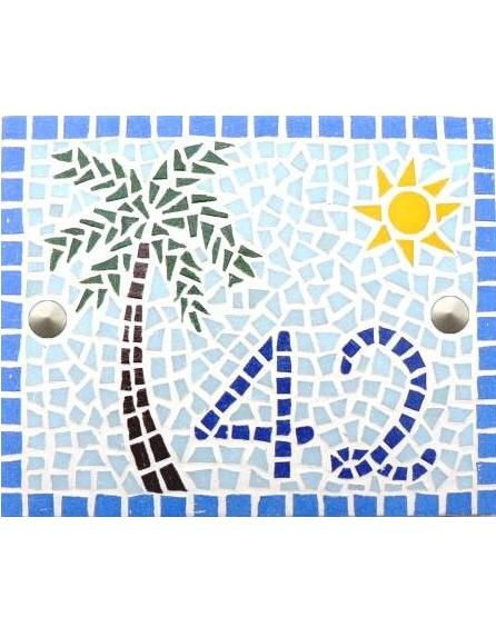 Mosaico - Número de casa