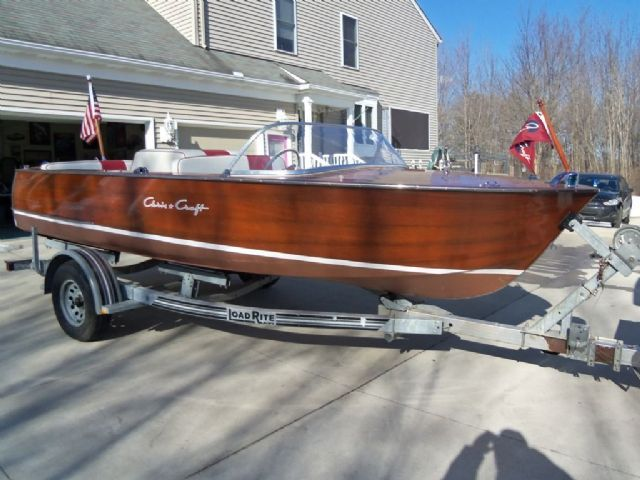 17 feet 1960 chris craft runabout runabout mahogany for for Norris craft boats for sale