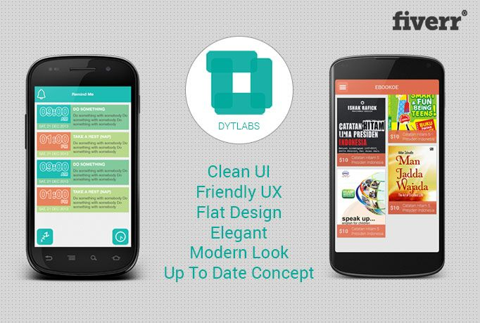 dytlabs: build cool UI for you android application for $5, on fiverr.com