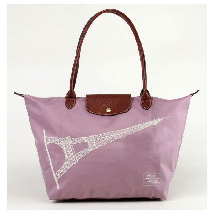 LONGCHAMP EIFFEL TOWER LARGE TOTE BAG PLUM - LONGCHAMP #LONGCHAMP #totebag #bag #women #lepliage #christmas #gifts #christmasgifts