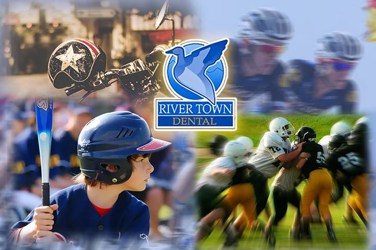 Protect your #teeth! If you play contact sports, such as #football, soccer, basketball & #baseball, it is important to use a mouthguard, which is a flexible appliance made of plastic that protects teeth from trauma. If you ride bicycles or motorcycles, wear a #helmet. 608) 788-0030 rivertowndentalonline.com #OralHealth