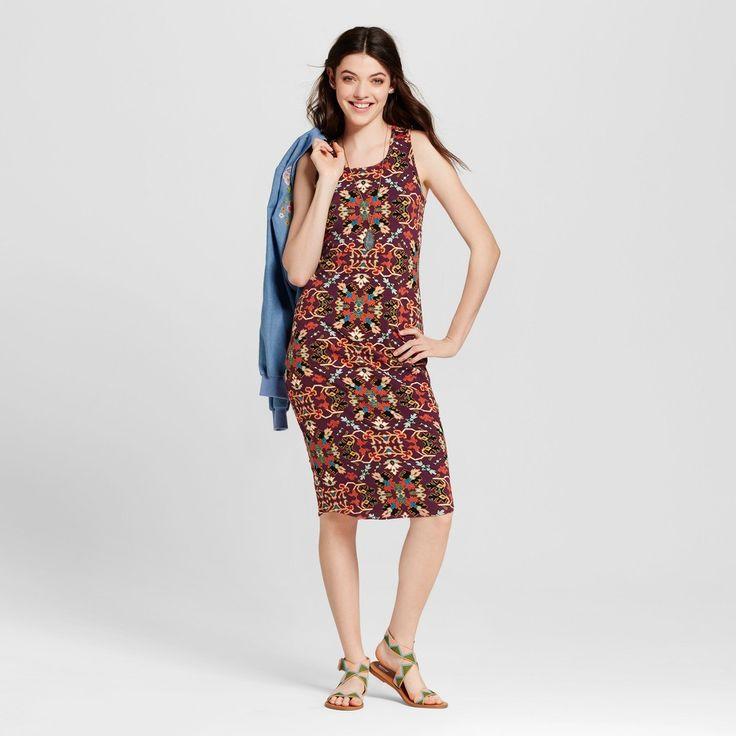 Women's Bodycon Dress - Xhilaration (Juniors') Fuchsia L, Pink