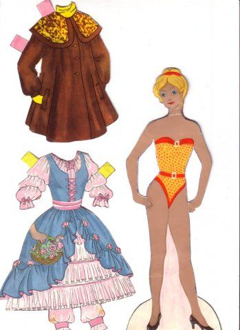 Бумажные куколки [ностальгия по 90-ым] » uCrazy.ru - Источник Хорошего Настроения