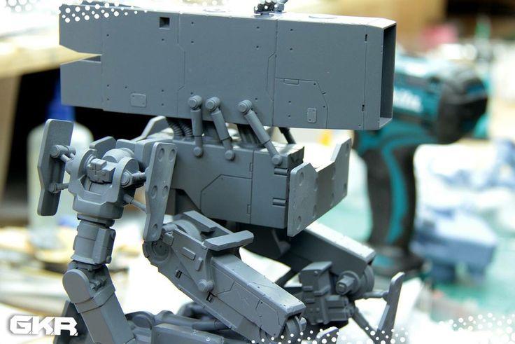 King Wolf under construction. Unpainted 3D print.
