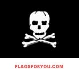 2' x 3' Jolly Roger flag