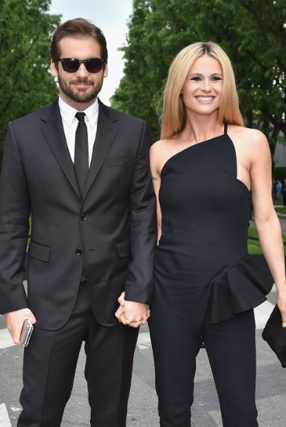 Michelle Hunziker and husband Tomaso Trussardi