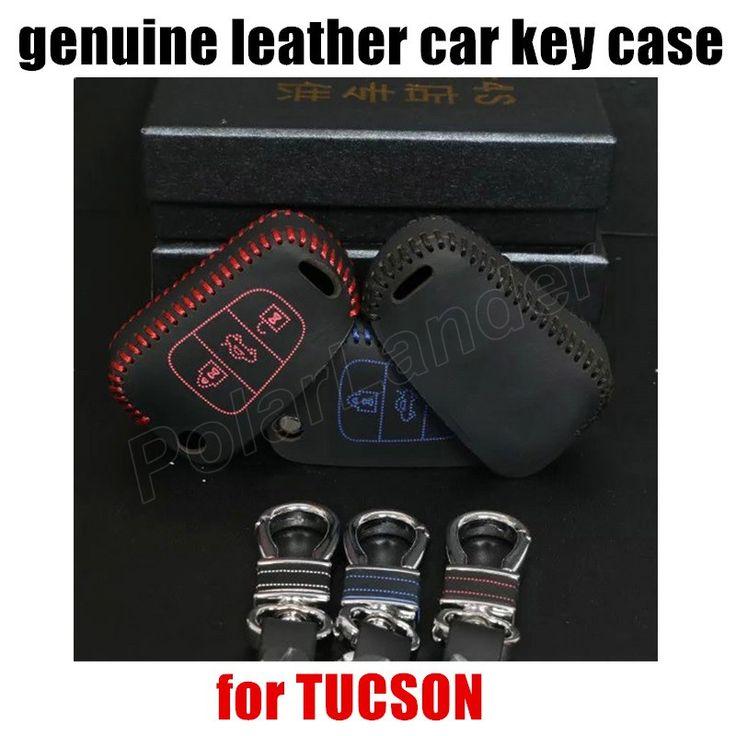 car key case hand sewing leather car key cover fit for HYUDNAI SONATA 8 NEW ELANTRA VERNA I30 TUCSON #Affiliate