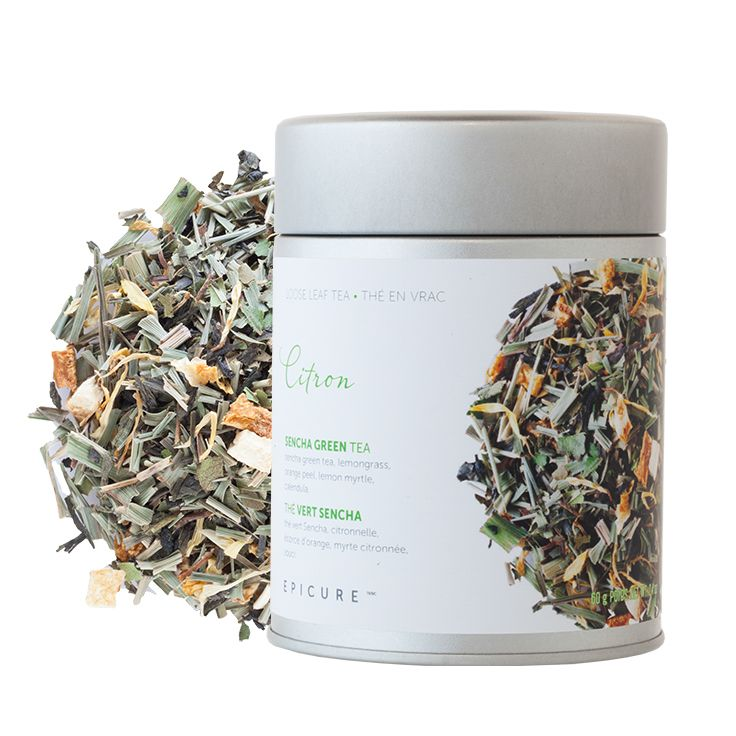 Citron Sencha Green Tea: Go green and invigorate your mind with citrusy sweetness and clean, revitalizing flavour.