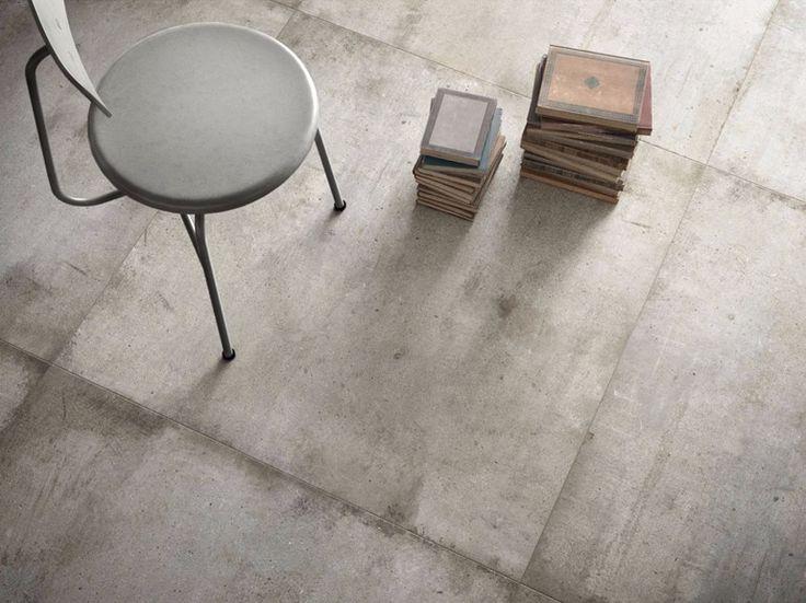 Pavimento/rivestimento in gres porcellanato effetto pietra ULTRA TEKNOSTONE - LIGHT GREY Collezione Ultra Teknostone by ARIOSTEA