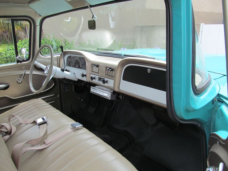 1961 chevy apache 10 c10 pickup truck interior ideas - Chevy truck interior accessories ...