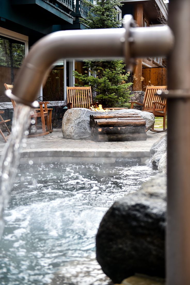 Outdoor Immersion Pools