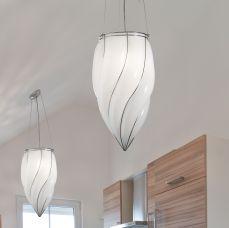 Lampadari Murano Moderni Sospensioni Lampade Sospese - Siru Retrò 2000
