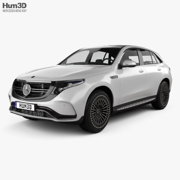 Mercedes Benz Eqc 2020 Fully Editable And Reusable 3d Model Of A Car 3d 3dmodel 3ddesign 2019 2021 5 Door Benz Coupe Cros In 2020 Benz Mercedes Benz Mercedes
