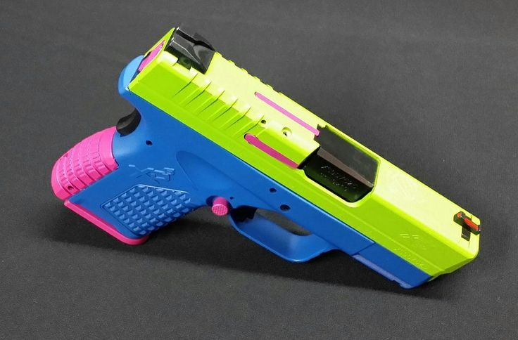 Springfield xds custom cerakote - not mine - found on facebook by Cody Weiser Firearm Refinishing - when I get my xds I'll be sending it to him I love this!