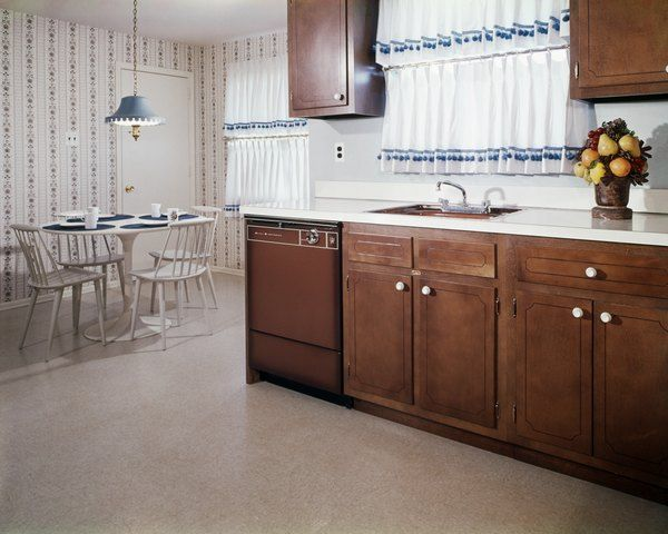 How To Darken Cabinets Without Removing Polyurethane Stain Kitchen Cabinets Dark Stained Kitchen Cabinets Kitchen Flooring