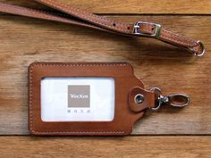 Weeken  ID card holder / badge holder with belt  by weekenlife