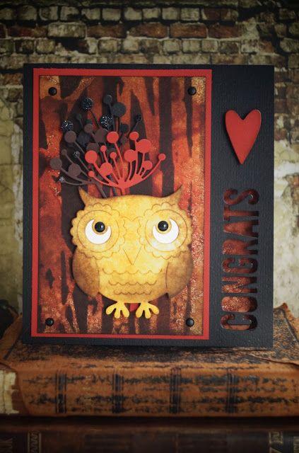 Synnøves Papirverksted: Sweet owl
