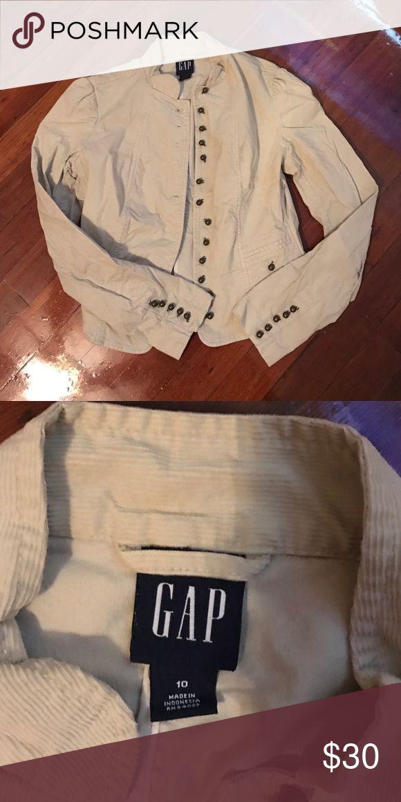 Creme Blazer Creme Blazer GAP Jackets & Coats Blazers