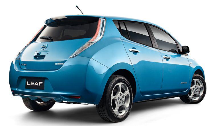 Police in West Midlands Order Batch of Electric Nissan Leaf Cars