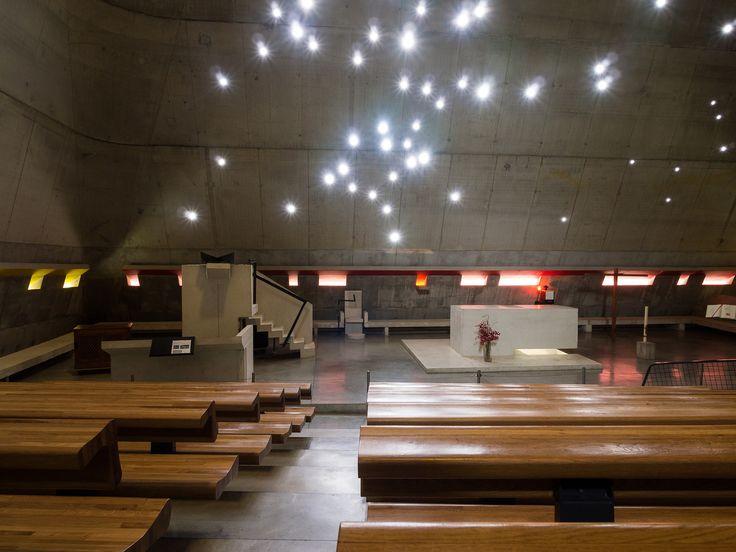 Église Saint-Pierre de Firminy - Le Corbusier