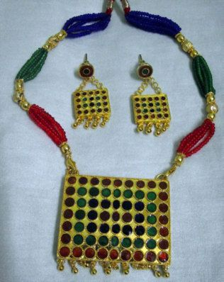 Indian Assamese Jewellery Mejbiri by RamdhenuEmporium on Etsy, $61.00