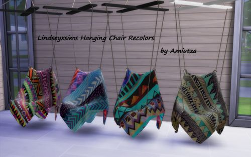 Just Sims 4 stuff — LindseyxSims Hanging chair recolors I really...