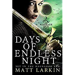 A dark fairytale retelling of the Norse legend of Tyrfing.  Hervor's sword cannot be sheathed without taking a life. She gladly pays the price in pursuit of the man who murdered her father and uncles.  She's tracked him across the land and joined his crew, waiting for the chance to drive her cursed blade through his heart. But when they sail to an island where horrors stalk the night, her only chance for survival may lie in the hands of her target.