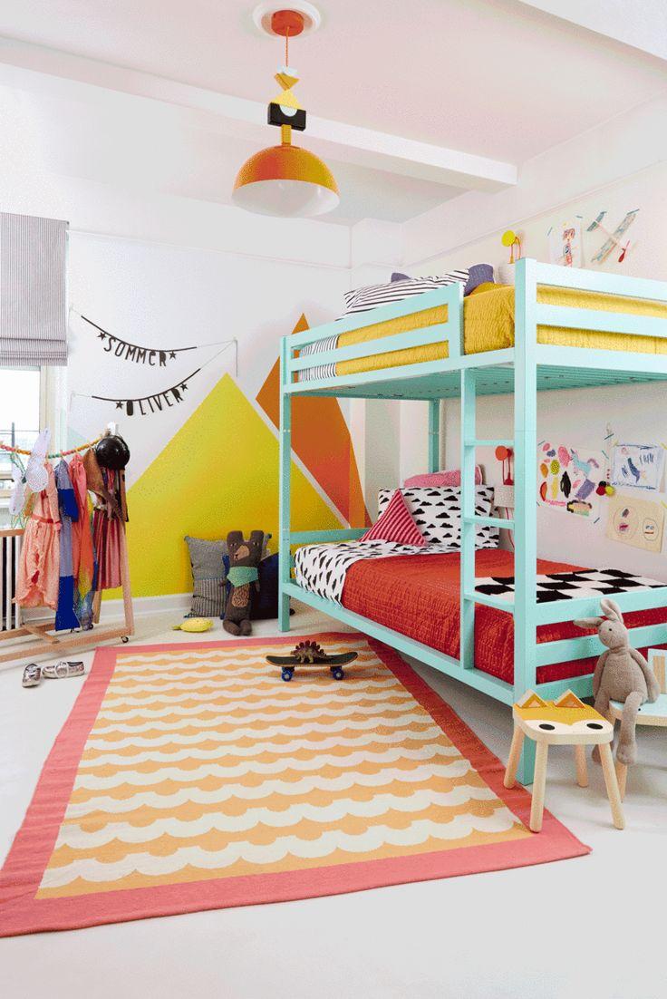 Kids Room Design Shared Simple