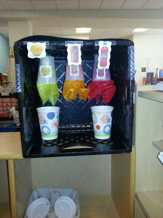 Soda machine for restaurant theme