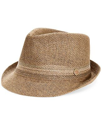 Levi's Straw Fedora Hat - Hats, Gloves & Scarves