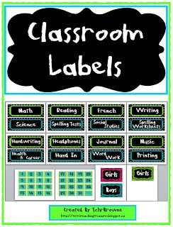 It's just a graphic of Ridiculous Free Printable Classroom Signs and Labels