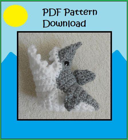 PATTERN: Crochet Shark Booties, Shark Socks, Shark Attack Baby Shoe, Baby Slippers, Crib Shoe, Baby Shower Gift, Fun Baby Gift by WoollyWarmer on Etsy