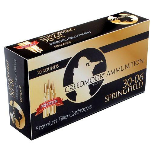 Creedmoor 30-06 150 gr. Ammunition (Lapua Brass)