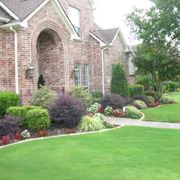 Texas landscaping landscaping project north texas for North facing back garden designs