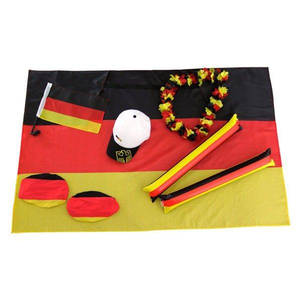 Ultimatives Fan Set Deutschland V2 - #Fanartikel, #Deutschland, #Fahne, #Basecap, #Auto, #Kette - http://www.multifanshop.de