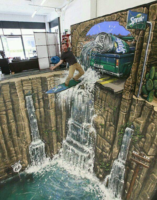 Renklim Blog – Burada renkli bir şeyler var! – Muhteşem 3D sokak sanatı çalışamları
