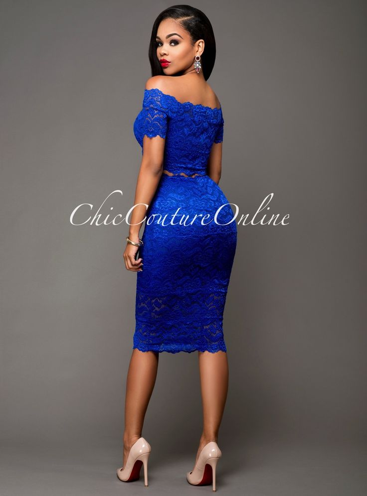 Pin By Chic Couture Online On Clothing Chic Couture Online Pinterest Royal Blue Couture
