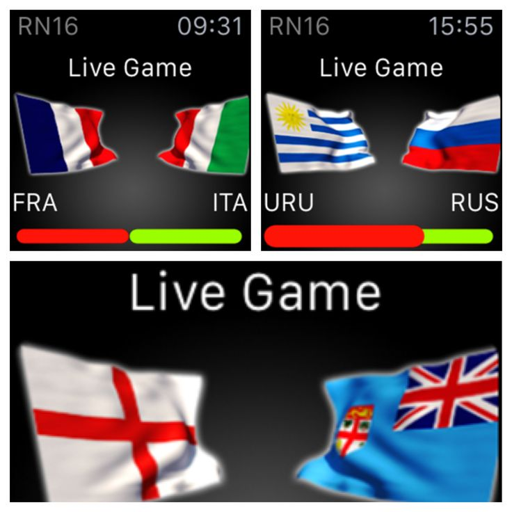 ​DID YOU KNOW that Rugby Nations 16 has Apple Watch Support? You can keep up to date with all the LIVE GAMES on your Apple Watch – check out who's playing, and more importantly who's winning! http://fnky.link/rn16 ​