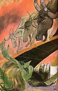 Clark Bruorton: I tre capretti Furbetti (part.) - Dal Volume 2: Fiabe e racconti (ed. 1967)