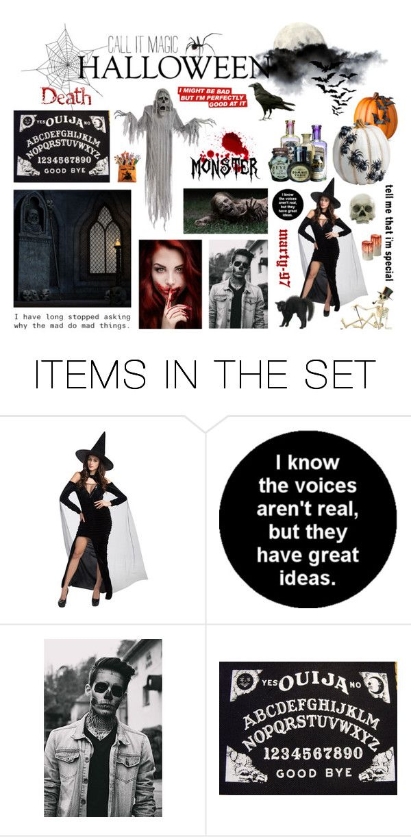Are You Ready for Halloween?!? by marty-97 on Polyvore featuring arte