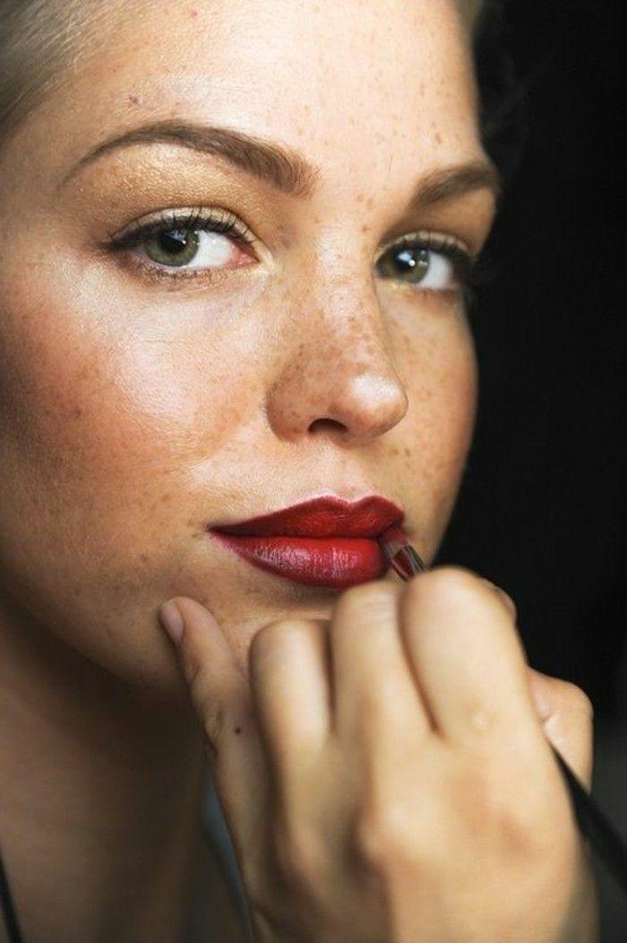 Bien-aimé Les 25 meilleures idées de la catégorie Maquillage pour taches de  XJ84