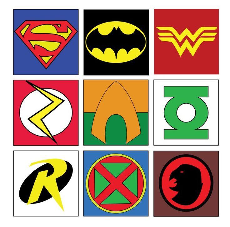 Значки супергероев картинки