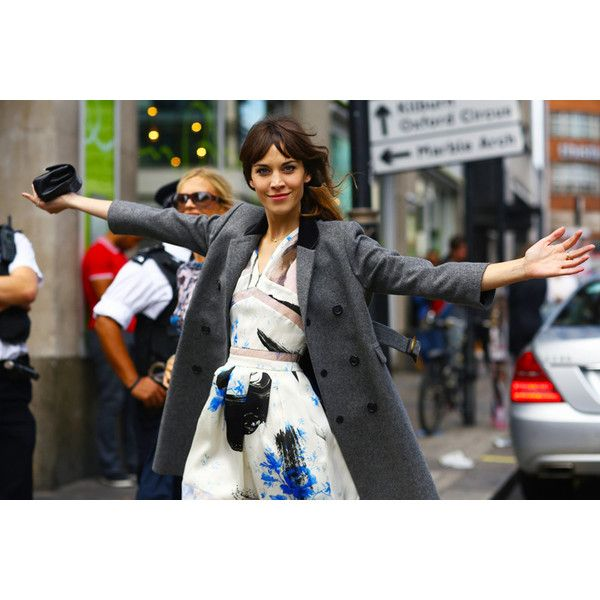 brunette silhouette ❤ liked on Polyvore featuring alexa chung
