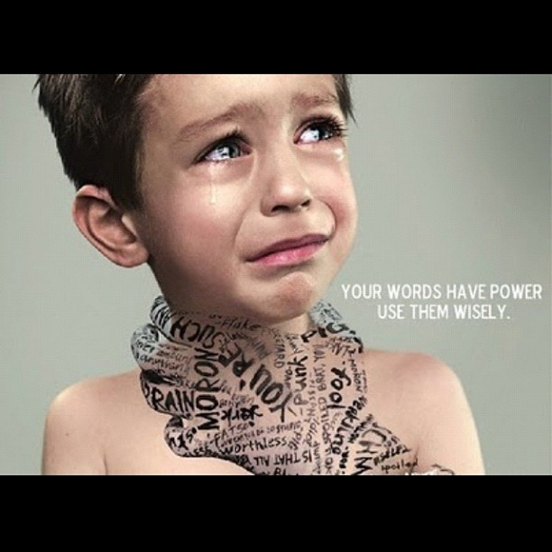 words have power use them wisely