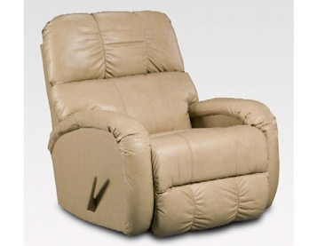 This Chaise Bonded Leather Recliner Rocker recliner in creme provides the ultimate in comfort and relaxation  sc 1 st  Pinterest & 97 best Shop Aaronu0027s images on Pinterest | Appliances Ranges and ... islam-shia.org