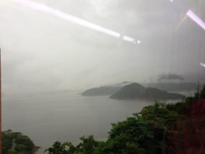 Hong Kong is beautiful on a rainy day.