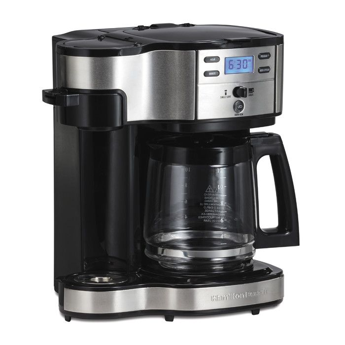 You'll love the The Scoop Two Way 12 Cup Brewer Coffee Maker at Wayfair - Great Deals on all Kitchen & Dining  products with Free Shipping on most stuff, even the big stuff.
