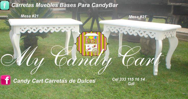 Guadalajara Jalisco México Visitanos en FB Candy Cart Carretas de