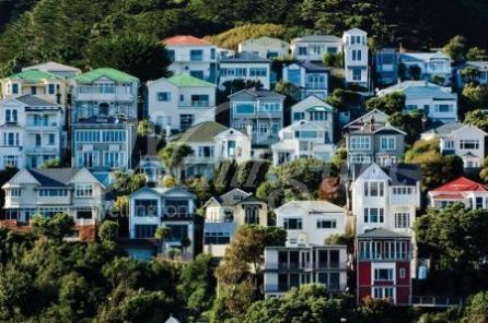 Mt Victoria houses in Wellington, New Zealand. So unique and different. How fun would it be to live in one of these?