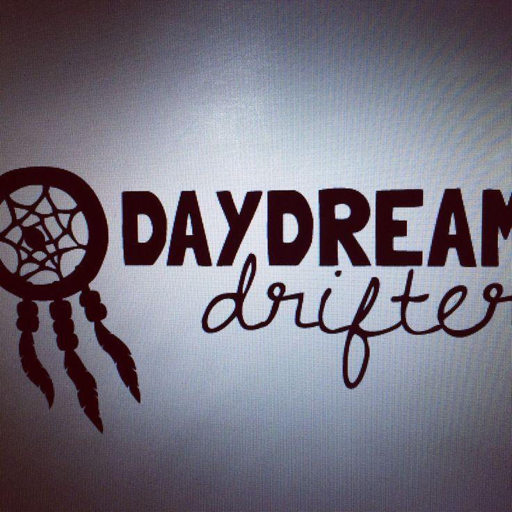 My new logo design. I love it! And so daydream drifter is born xo